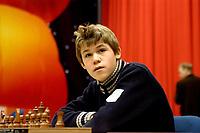 wijk aan zee;15-01-2006;dorpshuis de moriaan;chorus chess 2006;magnus carlsen uit noorwegen is de jingste deelnemer van de grandmaster group b.