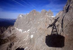 Glacier Dachstein at Ramsau, Austria, on October 22, 2008. (Photo by Vid Ponikvar / Sportida).