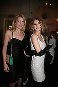 MEREDITH OSTRON AND ROSAMUND PIKE, Cos Collection launch. Launch of new Hennes And Mauritz brand. Royal academy of Arts. Burlington Place. london. 14 march 2007.  -DO NOT ARCHIVE-© Copyright Photograph by Dafydd Jones. 248 Clapham Rd. London SW9 0PZ. Tel 0207 820 0771. www.dafjones.com.
