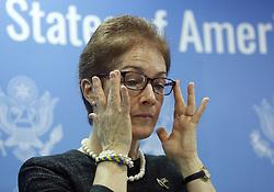 November 9, 2016 - Kiev, Ukraine - Marie Yovanovitch, the U.S. Ambassador to Ukraine  during Presidential USA election night in Kiev, Ukraine on 9 November 2016. (Credit Image: © Maxym Marusenko/NurPhoto via ZUMA Press)