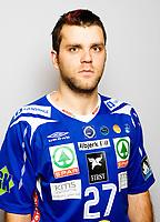 Håndball , portretter , portrett , Postenligaen 2008 / 2009 , Drammen DHK<br /> <br /> 27Eldin Hajdarevic<br /> <br /> Foto: Eirik Førde<br /> <br /> <br /> <br /> Foto: Eirik Førde