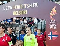 Ingrid Hjelmseth, Norway - France. WEURO 2009. Helsinki 30.8.2009. Photo: Jussi Eskola. FINLAND OUT.