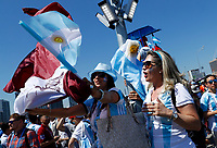 aragentina fans<br /> Moscow 16-06-2018 Football FIFA World Cup Russia  2018 <br /> Argentina - Iceland / Argentina - Islanda<br /> Foto Matteo Ciambelli/Insidefoto
