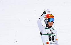 01.03.2017, Lahti, FIN, FIS Weltmeisterschaften Ski Nordisch, Lahti 2017, Nordische Kombination, Skisprung, Grossschanze HS130 m, im Bild Mario Seidl (AUT) // Mario Seidl of Austria during Skijumping competition of Nordic Combined of FIS Nordic Ski World Championships 2017. Lahti, Finland on 2017/03/01. EXPA Pictures © 2017, PhotoCredit: EXPA/ JFK