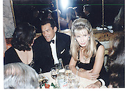 Bruce Oldfield and Mr Robert Sangster at the 1996 Crillon Debutante's Hotel De Crillon, Paris 30 Nov 96© Copyright Photograph by Dafydd Jones 66 Stockwell Park Rd. London SW9 0DA Tel 020 7733 0108 www.dafjones.com