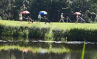 SOUFFLENHEIM - paraplu tegen de zon. GC Soufflenheim.