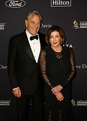 Pre-GRAMMY Gala and GRAMMY Salute to Industry Icons at The Beverly Hilton Hotel on January 25, 2020 in Beverly Hills, California. Photo: CraSH/imageSPACE. 25 Jan 2020 Pictured: Paul Pelosi, Nancy Pelosi. Photo credit: CraSH/imageSPACE / MEGA TheMegaAgency.com +1 888 505 6342