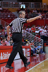 26 November 2016:  Randy Heimerman during an NCAA  mens basketball game between the IUPUI Jaguars the Illinois State Redbirds in a non-conference game at Redbird Arena, Normal IL
