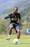 Fotball<br /> Nederland<br /> Treningsleir Ajax<br /> Neustift Østerrike<br /> 02.07.2013<br /> Foto: Gepa/Digitalsport<br /> NORWAY ONLY<br /> <br /> Niederlaendische Eredivisie, AFC Ajax Amsterdam, Trainingslager. <br /> <br /> Bild zeigt Fabian Sporkslede (Ajax)