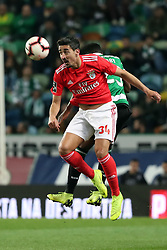 February 3, 2019 - Lisbon, Portugal - Benfica's Portuguese defender Andre Almeida in action during the Portuguese League football match Sporting CP vs SL Benfica at Alvalade stadium in Lisbon, Portugal on February 3, 2019. (Credit Image: © Pedro Fiuza/ZUMA Wire)