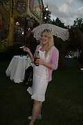 Emerald Fennell, QUINTESSENTIALLY AND ELEPHANT FAMILY TRUNK SHOW PARTY. SERPENTINE PAVILION, HYDE PARK. 16 SEPTEMBER 2007. -DO NOT ARCHIVE-© Copyright Photograph by Dafydd Jones. 248 Clapham Rd. London SW9 0PZ. Tel 0207 820 0771. www.dafjones.com.