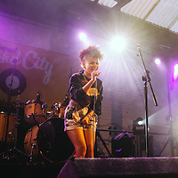 Taylor Fowlis performs in the Garage at Sound City, Liverpool, UK, on Thursday 2nd May, 2013.