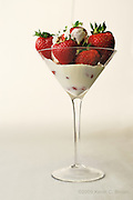 Philadelphia 2009.Food In My Martini Glass!.Just when I thought I had run out of ideas... I raided the refrigerator and cabinets...