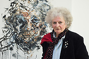 Maggi Hambling at the Jerwood Gallery. The quick and the Dead, Hastings, 18 October 2018