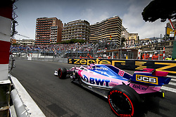 May 25, 2019 - Monte Carlo, Monaco - Motorsports: FIA Formula One World Championship 2019, Grand Prix of Monaco, ..#18 Lance Stroll (CAN, Racing Point F1 Team) (Credit Image: © Hoch Zwei via ZUMA Wire)