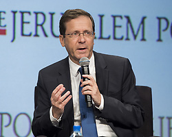 May 7, 2017 - New York, NY, U.S - ISAAC HERZOG, Chairman of the Israel's Labor Party, at the Jerusalem Post Annual Conference in New York City on May 7, 2017 (Credit Image: © Michael Brochstein via ZUMA Wire)