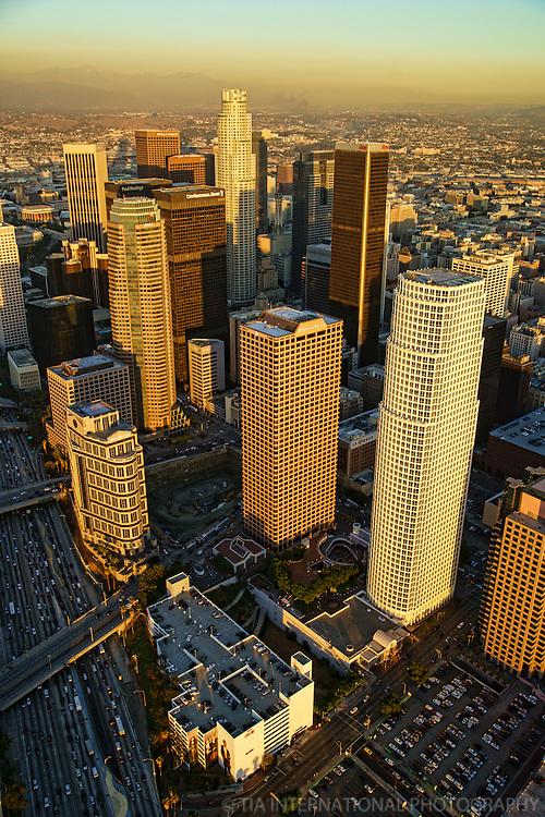 Downtown LA & Harbor Freeway