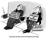 Exercise stricter control of freelance earnings