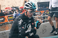 Chris Froome during the UCI World Tour, Tirreno-Adriatico 2018, Stage 5, Castelraimondo to Filottrano, in Italy, on March 11, 2018 - Photo Laurent Lairys / ProSportsImages / DPPI