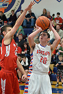 Firelands at Edison boys varsity basketball on January 22, 2015. Images © David Richard and may not be copied, posted, published or printed without permission.