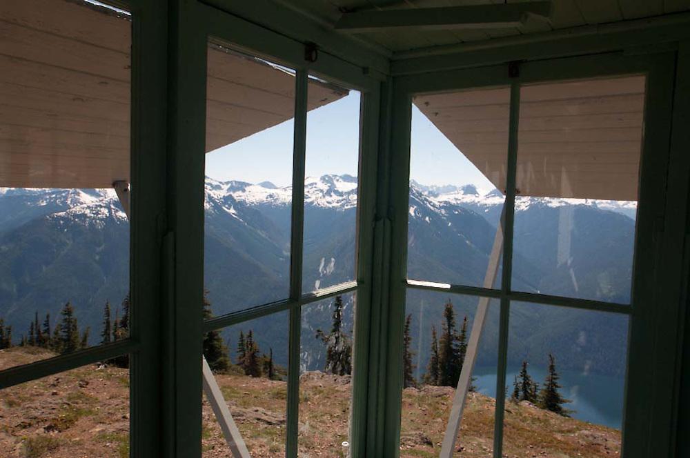 Fire Lookout, Desolation Peak, North Cascades National Park, Washington, US