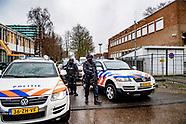 Extra beveiliging rechtbank Amsterdam