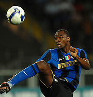 Fotball<br /> Italia<br /> Foto: Inside/Digitalsport<br /> NORWAY ONLY<br /> <br /> Patrick Vieira Inter<br /> <br /> 29.07.2008<br /> Calcio Trofeo Tim <br /> Juventus v Inter Milan