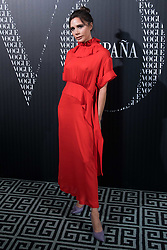 January 18, 2018 - Madrid, Spain - Victoria Beckham attend the Vogue dinner photocall at Santo Mauro Hotel in Madrid on Jan 18, 2018  (Credit Image: © Gabriel Maseda/NurPhoto via ZUMA Press)