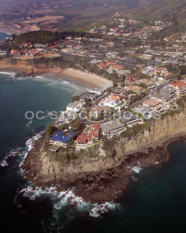 Aerial Of Emerald Bay Laguna Beach