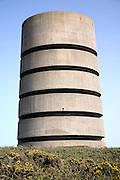 German direction finding tower, Pleinmont, Guernsey, Channel Islands, UK