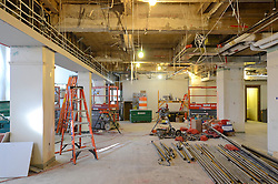 Sterling Memorial Library SML Tech Services Construction Progress. Fifth Photo Submission. First Floor. Date of Photography: 5 March 2013.