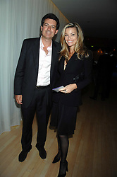 NICK BARHAM and KAREN CARWIN at an Evening at Sanderson in Aid of CLIC Sargent held at The Sanderson Hotel, 50 Berners Street, London W1 on 15th May 2007.<br /><br />NON EXCLUSIVE - WORLD RIGHTS