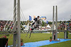 Bruynseels Niels (BEL) - Cherubin vd Helle<br /> Falsterbo Horse Show 2009<br /> © Hippo Foto - Leanjo de Koster