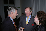 James Hughes-Onslow  and Andrew Parker Bowles. Annabel Freyberg and Andrew Barrow drinks party. The Royal Geographical Society. 5 January 2006. ONE TIME USE ONLY - DO NOT ARCHIVE  © Copyright Photograph by Dafydd Jones 66 Stockwell Park Rd. London SW9 0DA Tel 020 7733 0108 www.dafjones.com