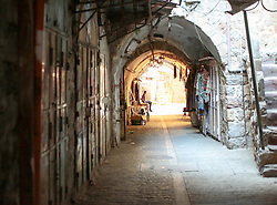 A view from inside the old town of Hebron. From a series of photos commissioned by  British NGO, Medical Aid for Palestinians (MAP).