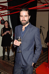 JACK GUINNESS at the Tunnel of Love art and fashion auction and dinner in aid of the British Heart Foundation held at One Mayfair, London on 12th November 2013.