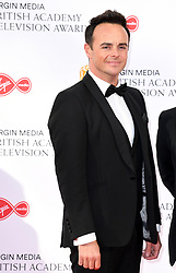 Anthony McPartlin attending the Virgin Media BAFTA TV awards, held at the Royal Festival Hall in London. Photo credit should read: Doug Peters/EMPICS
