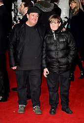 Johnny Vegas attending the european premiere of Star Wars: The Last Jedi held at The Royal Albert Hall, London.