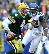 .The Green Bay Packers hosted the Seattle Seahawks at Lambeau Field Sunday January, 1, 2006. Steve Apps-State Journal.