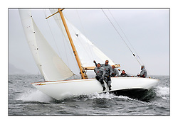 Day two of the Fife Regatta,Passage race to Rothesay.<br /> Saskia, 13, Murdoch McKillop, GBR, Bermudan Sloop, Wm Fife 3rd, 1931<br /> <br /> * The William Fife designed Yachts return to the birthplace of these historic yachts, the Scotland's pre-eminent yacht designer and builder for the 4th Fife Regatta on the Clyde 28th June–5th July 2013<br /> <br /> More information is available on the website: www.fiferegatta.com