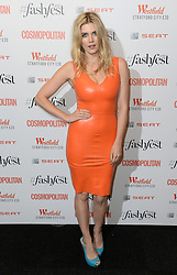 Ashley James attending the Cosmopolitan FashFest 2016, Old Billingsgate Market, London. Picture credit should read: Doug Peters/EMPICS Entertainment