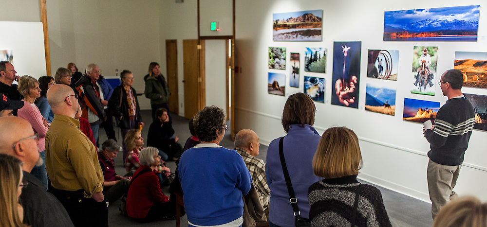 """Kenton Rowe talking about his work in the 2013 group show """"Montana's Living Landscape: A Photographic Essay"""" at the Holter Museum of Art"""