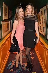 Left to right, TALI SHINE and MALIN JEFFERIES at the launch of GP Nutrition held at Annabel's, 44 Berkeley Square, London on 26th January 2016.