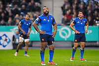 Deception France / Mathieu Bastareaud - 22.11.2014 - France / Argentine - Tournee d Automne 2014<br />
