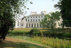 Exterior view of Frogmore House in Berkshire.