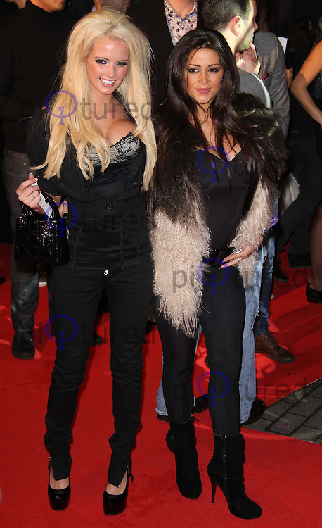 Gemma Hiles; Casey Batchelor Jackass 3D UK Premiere, BFI IMAX, Waterloo, London, UK, 02 November 2010: piQtured Sales: Ian@Piqtured.com +44(0)791 626 2580 (picture by Richard Goldschmidt)