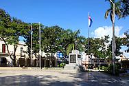 Parque Cespedes in Bayamo, Granma, Cuba.