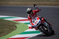 June 3, 2017 - Scarperia, Italy - Michele PIRRO ITA Ducati Team during the Day2 qualifications at the Mugello International Cuircuit for the sixth round of MotoGP World Championship Gran Premio d'Italia Oakley  on June 3, 2017 in Scarperia, Italy. (Credit Image: © Fabio Averna/NurPhoto via ZUMA Press)