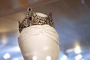 Beatrix opent tentoonstelling Máxima, 10 jaar in Nederland.//<br /> Queen Beatrix opens the exibition Maxima 10 years in the Netherlands<br /> <br /> Op de foto: Tiara