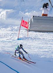 12.01.2013, Karl Schranz Abfahrt, St. Anton, AUT, FIS Weltcup Ski Alpin, Abfahrt, Damen im Bild Laurenne Ross (USA) // Laurenne Ross of the USA in action during ladies Downhill of the FIS Ski Alpine World Cup at the Karl Schranz course, St. Anton, Austria on 2013/01/12. EXPA Pictures © 2013, PhotoCredit: EXPA/ Johann Groder
